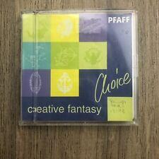 Pfaff Creative Fantasy Embroidery Card Choice Symbols