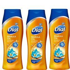 Dial Marula Oil Body Wash Clean Rinsing Micro Oil LOT OF 3 / 12 Oz