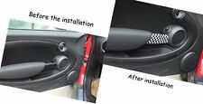 For MINI Cooper R55 R56 R57 R58 Checkered UK Flag Car Interior Door Handle Cover