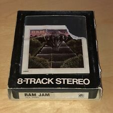 Ram Jam Self Titled 8-Track Stereo Tape Cartridge Black Betty Hey Boogie Woman