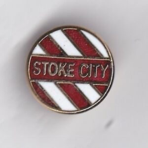 Stoke City - lapel badge No.1 brooch fitting