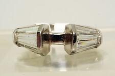 $29500 2.51Ct Baguette Cut Diamond Ring Mounting Platinum Huge Baguettes Rare