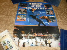 Ocean Shores Karate Poster Warriors Of The Sung Dynasty Video Store Martial Arts