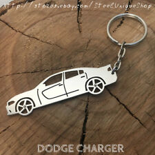 Dodge Charger Side Keychain