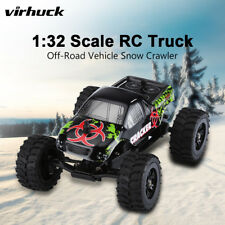 Virhuck 1:32 Scale Electric Rc Racing Off-Road Car Truck 2Wd Remote Control Toys
