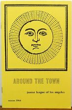 1964 Junior League of Los Angeles California Around the Town guide booklet b