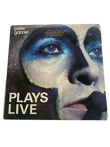 Peter Gabriel Plays Live Promo 2 Records 1st Press Includes Inserts