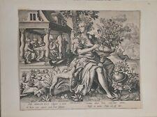 Gregorius Fentzel, after A. Colleart: ODORATUS, the five sense, 18th c.
