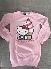H&M Hello Kitty Strickpullover Gr. 122 / 128 Tunika Shirt Oberteil Strick Pulli