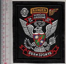 Ranger US Army 75th Ranger Regiment Airborne 3rd Battalion October 1974 ''Sua Sp