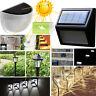 Waterproof 6LED Solar Power Path Motion Sensor Wall Light Outdoor Garden Lamp KY