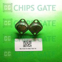6 PAIRS Transistor MOTOROLA TO-3 MJ15015/MJ15016