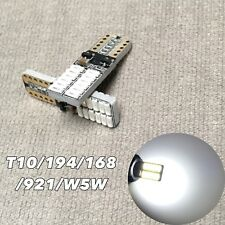 PARKING LIGHT T10 LED 6000K bulb No Canbus Error w5w 168 194 24 SMD for Toyota L