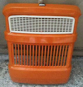 4950401 CALANDRA RADIATORE SERIE ORO TRATTORE FIAT CON MASCHERINA E PERNO