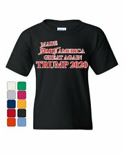 Made America Great Again Youth T-Shirt President Donald Trump 2020 Kids Tee
