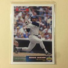 1993 Reggie Jackson Clark Bar 3 Card Set by Upper Deck MLB Baseball NY Yankees