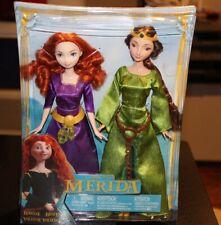 Disney Pixar Brave Merida & Queen Elinor Doll Set - New 2011