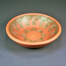 Six Nations Santhony Pottery Plate Canadian Art Pottery Indigenous Iroquois