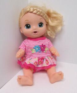 Hasbro Baby Alive Sweet Tears Baby Interactive Doll 2016 Soft Face Talks