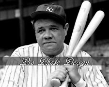 Baseball Hall of Famer Babe Ruth Yankees 8x10 Photo Print Wall Art Decor (C3)