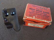 "Lyman Double Cavity Bullet Mold 45 Caliber round ball fits Hopkins & Allen .445"""