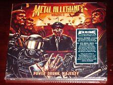 Metal Allegiance: Volume II - Power Drunk Majesty CD 2018 Nuclear Blast USA NEW