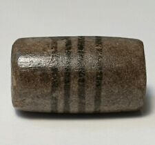 ANCIENT RARE INDO-TIBETAN ETCHED AGATE 4 STRIPED BEAD