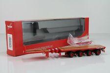 1//87 Herpa nooteboom ballasttrailer 6-alineación rojo 076715-003