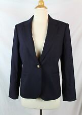 J.Crew $198 Tall Campbell Blazer Wool Flannel NWT 4T T4 4 Navy E3339 career