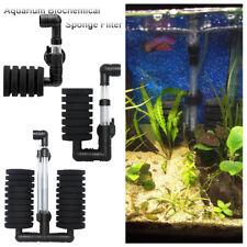Aquarium Biochemischer Schwamm Filter Aquarium Sauerstoff Fry Luftpumpe Neu