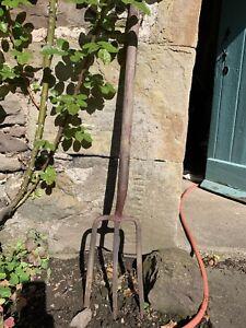 Vintage Three Pronged Garden Fork