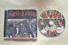 HELL TRAIN EN PIE DE GUERRA  CD 2005  INCLUYE CD+LIBRETO  10 TRACKS