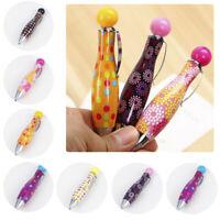 Creative Cute Ball Pen Mini Advertising Pen Retractable Pen Ballpen Blue Ink HS