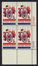 #1309 5c Circus, Plate Block [28450-28461 LR] Mint ANY 5=