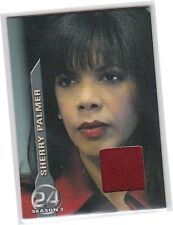 24 Season 3 (Three) - M4 Sherry Palmer - Red Coat Costume/Memorabilia Card