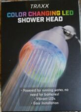 BRAND NEW TRAXX COLOR CHANGING LED SHOWER HEAD