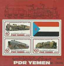 Timbres Trains Yémen BF13 ** lot 6361 - cote Michel : 25,00 euros