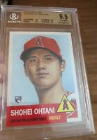 2018 Topps living set Shohei Ohtani BGS graded gem mint 9.5 angels