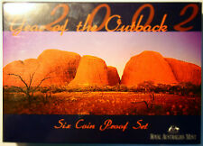 2002 Australian Proof Coin Set  - Year of the Outback - Catalogue Value $160