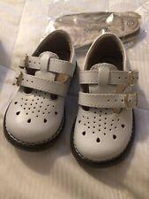 Footmates Danielle White Non Marking Uniform Shoe Girl's Size 3.5 Mary Janes