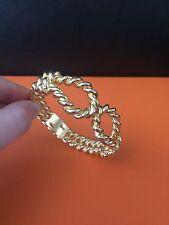 Vintage KJL Gold Tone Bracelet
