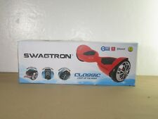 Swagtron Classic Light Up the Night - Multi Color Leds - 6.8Mph Red Hoover Board