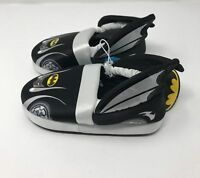 NEW DC Comics Batman Slipper Boys Youth Sz 9 - 10 Large Dark Knight Batmobile