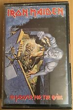 IRON MAIDEN - NO PRAYER FOR THE DYING - CASSETTE -CASETE - TAPE - K7 --VG+