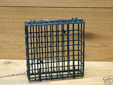 Kettle Moraine Hanging Green Single Suet Cage Wild Bird Feeder