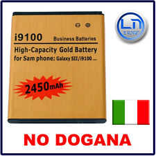 Batteria GOLD MAGGIORATA 2450mAh SAMSUNG GALAXY S2 I9100 - NO DOGANA