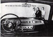Lancia Flavia Berlina 1967-69 Original Sales Brochure Pub. No. 8799204