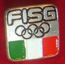 EISHOCKEY ICEHOCKEY OLYMPIC GAMES PIN BADGE IOC FISG TEAM  ITALIEN ITALY ITALIA