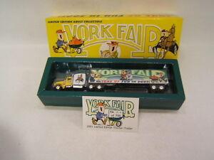 York Fair 2001 Tons of Fun Tractor Trailer Peterbilt Cab 1:80  MIB 517/700