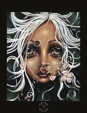 Water Lily by Angelina Wrona Fine Art Print Fantasy Gothic Poster 25.5x31.5